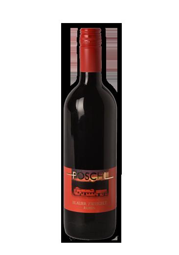 Weingut Pöschl - Borászat - Winery - Blauer Zweigelt